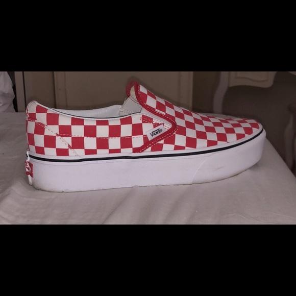 Vans Shoes | Vans Platform Redtrue